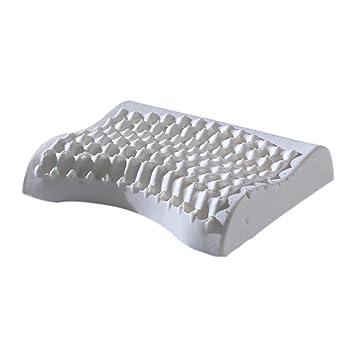 jhion Natural saco de dormir viscoelástico almohada hipoalergénico cuello óptimo apoyo para alivio del dolor con