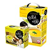 DAMTUH Instant Sweet Pumpkin Yam Powder Tea Breakfast 50 sticks+15 sticks, Korean Drink Meal, Replacement Meals