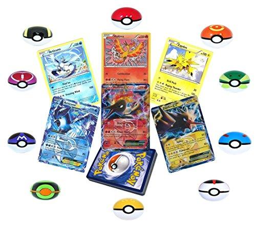 Pokemon Articuno Moltres PokeBall Duplicates product image