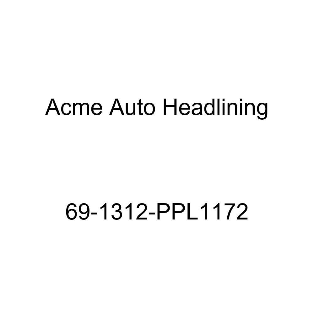 6 Bow 1969 Cadillac Eldorado 2 Door Hardtop Acme Auto Headlining 69-1312-PPL1172 Brown Replacement Headliner