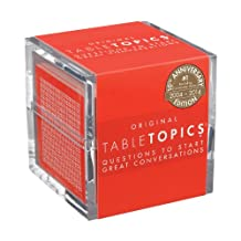 TABLETOPICS Original- 10th Anniversary Edition: Questions to Start Great Conversations