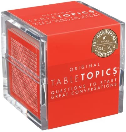 TableTopics Original - 10th Anniversary Edition: Questions to Start Great Conversations