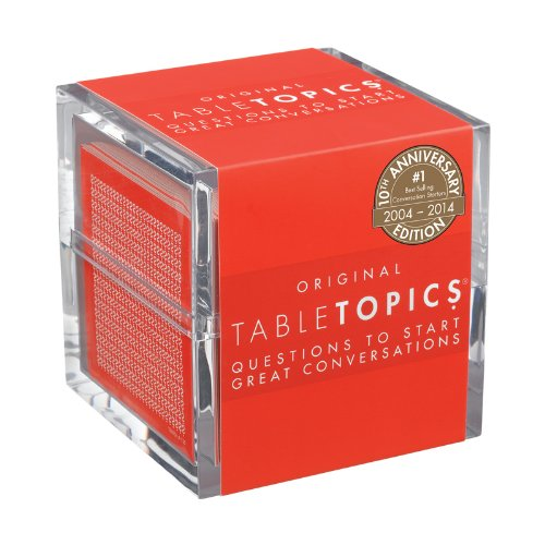 TableTopics Original - 10th Anniversary Edition: Questions to Start Great Conversations (Table Game The)
