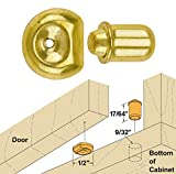 Platte River 866840, 100-pack, Hardware, Locks And Latches, Ball & Bullet Catches, 7mm Diameter Bullet Catches