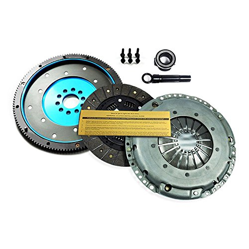 (EFT HD CLUTCH KIT+ALUMINUM FLYWHEEL VW GOLF GTI JETTA GLX PASSAT CORRADO 2.8L VR6)