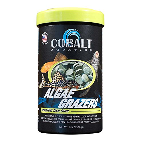 (Cobalt Aquatics Algae Grazers wafers, 3.5 oz)