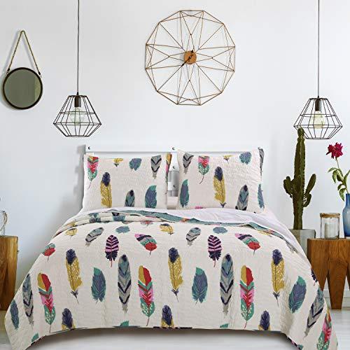 Greenland Home Dream Catcher Quilt Set, 3-Piece Full/Queen, (Comforter Western Set Full)