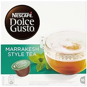 Nescafé Dolce Gusto - Marrakesh Style Tea - 3 Paquetes de 16 Cápsulas - Total: 48 Cápsulas