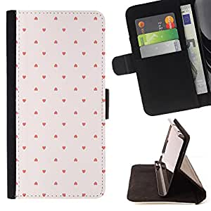 Jordan Colourful Shop - dot pattern wallpaper pink red For Apple Iphone 4 / 4S - Leather Case Absorci???¡¯???€????€????????&cen
