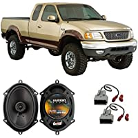 Fits Ford F-150 1997-2003 Front Door Factory Replacement Speaker Harmony HA-R68 Speakers