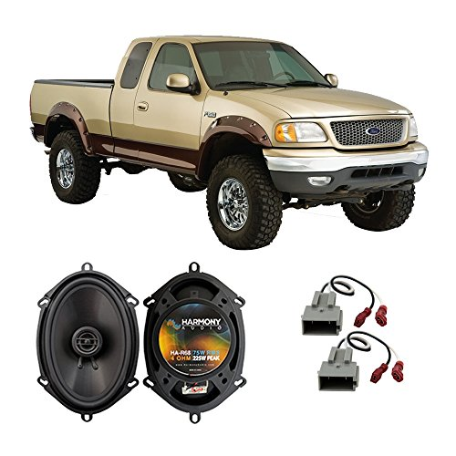 (Fits Ford F-150 1997-2003 Front Door Factory Replacement Speaker Harmony HA-R68 Speakers)