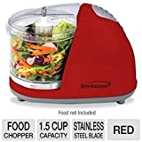 kitchen appliance black friday uk Food Processors Brentwood Mini Food Chopper, Red, Small Appliances, Processor Cooking Cutting