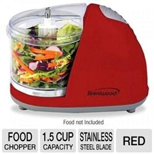 Food Processors Brentwood Mini Food Chopper, Red, Small Appliances, Processor Cooking - Popular 2014 Most Glasses