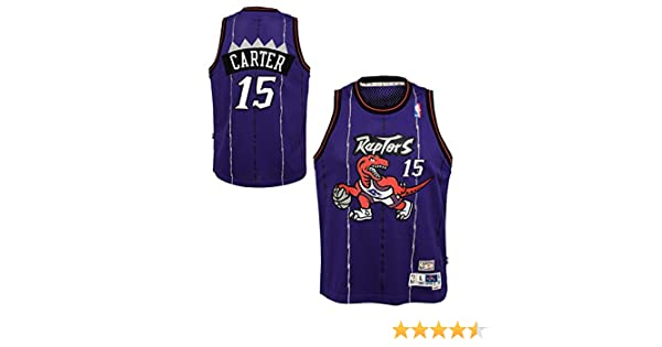 info for 76495 611ec Outerstuff Vince Carter Toronto Raptors NBA Youth Throwback 1998-99  Swingman Jersey