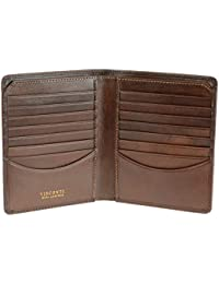 Tuscany 49 Secure RFID Blocking Genuine Leather Card Holder Wallet
