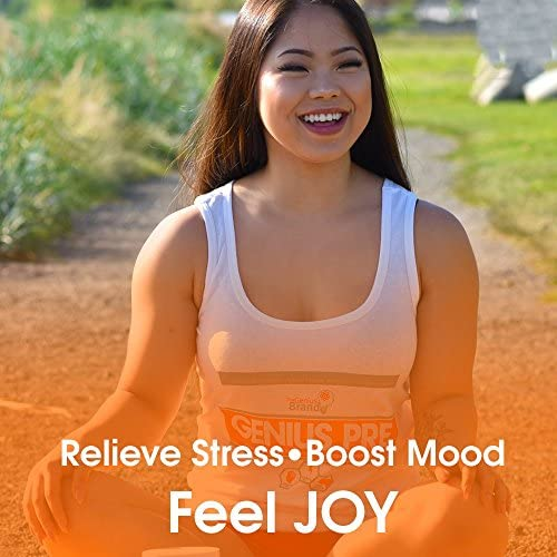Genius Joy - Serotonin Mood Booster for Anxiety Relief, Wellness & Brain Support, Nootropic Dopamine Stack w/Sam-e, Panax Ginseng & L-Theanine – Natural Anti Stress & Herbal Calm, 100 veggie pills 3