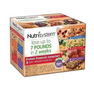 Nutrisystem 5 Day Protein Powered Jumpstart Weight Loss Kit