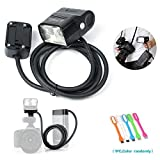 Godox EC200 200W Extension Flash Head 2M Cable Portable Off-Camera Light Lamp Compatible Godox AD200 Flash Speedlite