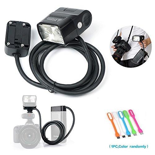 Godox EC200 200W ExtensionFlash Head 2M Cable Portable Off-Camera Light Lamp Compatible Godox AD200 Flash Speedlite