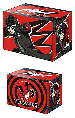 Persona 5 Protagonist Ren Akira Joker Card Game Character Deck Box Case Holder Collection V2 Vol.583 Anime Art