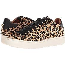 Coach Womens C101 Low Top Sneaker in Embellishment Leopard