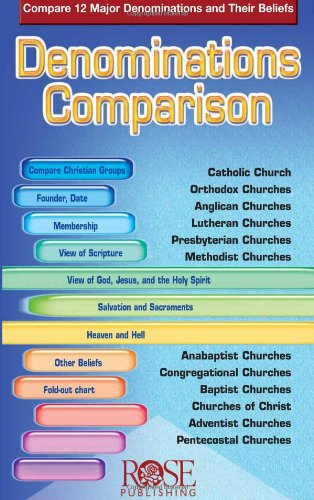 Denominations Comparison: Compare 12 Major Denominations and Their Beliefs