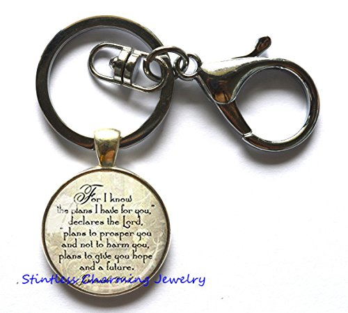 (Faith Keychain,Key Ring Keychain