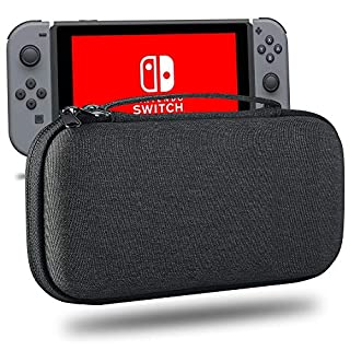 Carrying Case For Nintendo Switch Lite- Protective Hard Shell Travel Box for Nintendo Switch Lite Console & Accessories,Dark Gray