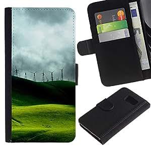 All Phone Most Case / Oferta Especial Cáscara Funda de cuero Monedero Cubierta de proteccion Caso / Wallet Case for Sony Xperia Z3 Compact // Nature Beautiful Forrest Green 47