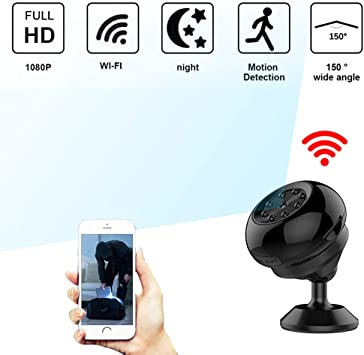 Mini Hidden Spy IP Camera HD Wireless Video Recorder Camcorder Night Vision DV