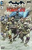 ninja turtles book set - Batman Teenage Mutant Ninja Turtles #1 DF Exclusive Color Variant with COA - Limited to 2500 Copies!