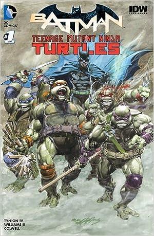 Batman Teenage Mutant Ninja Turtles #1 DF Exclusive Color ...