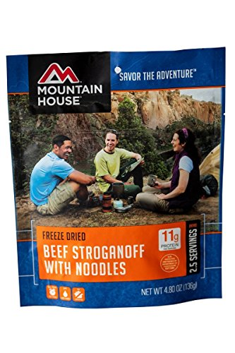 Mountain House Beef Stroganoff - Mountain House Beef Stroganoff with Noodles