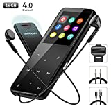 MP3 Player with Bluetooth, GeekSpark 16GB Portable Sport Metal Lossless Sound Music Player