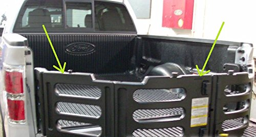 Oem Factory Stock Genuine Ford 2009 2010 2011 2012 2013 2014 F-150 Black BED Tailgate Stowable Folding Collapsable Extender