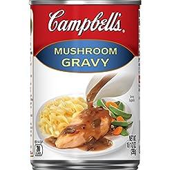 Campbell's Gravy, Mushroom, 10.5 oz. Can...