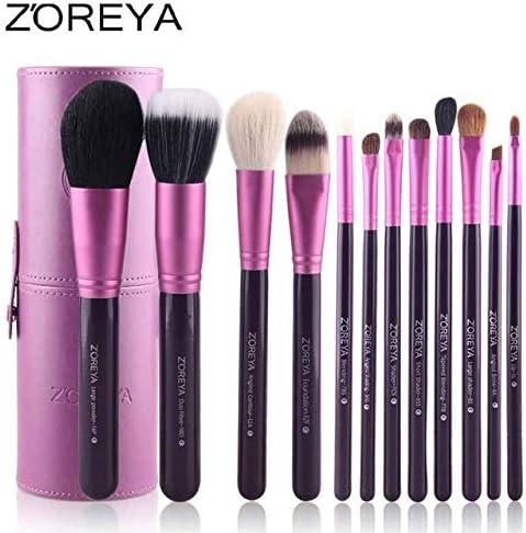 Buy Homely Zoreya Brand Hot Sales 12pcs Natural Goat hair makeup