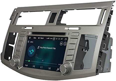 KUNFINE Android 9.0 8核自動車GPSナビゲーション マルチメディアプレーヤー 自動車音響 トヨタ TOYOTA Avalon 2008 2009 2010 自動車ラジオハンドル制御WiFiブルースティスト