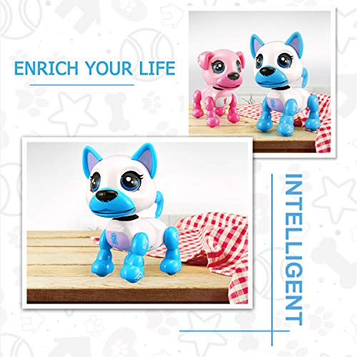 SoundOriginal Electronic Intelligent Pocket Pet Dog Interactive Puppy -  Robot Dog Popular Toys Smart Pet Toy for Age 3 4 5 6 7 8 9 10 Year Old Boys