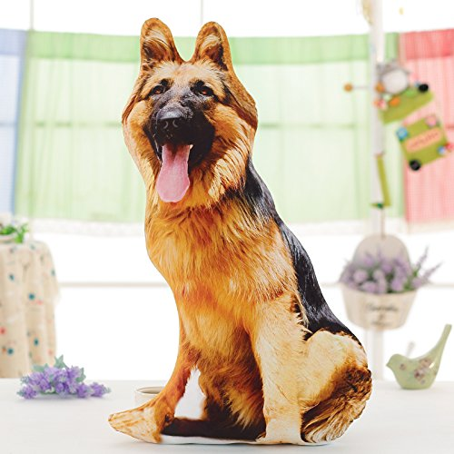 BAONZEN Dios Tiene Problemas con el Perro Perro 3D cojín ...