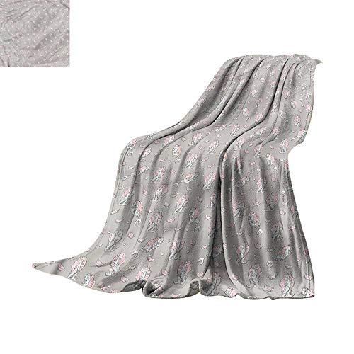 RenteriaDecor Soft Blanket Queen Sacred Geometry,Mystic Round Sign 62