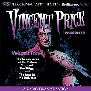 Vincent Price Presents - Volume Three Radio/TV Program
