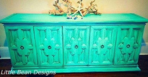 Retique It Chalk Furniture Paint by Renaissance DIY, 16 oz (Pint), 35 Seven Seas