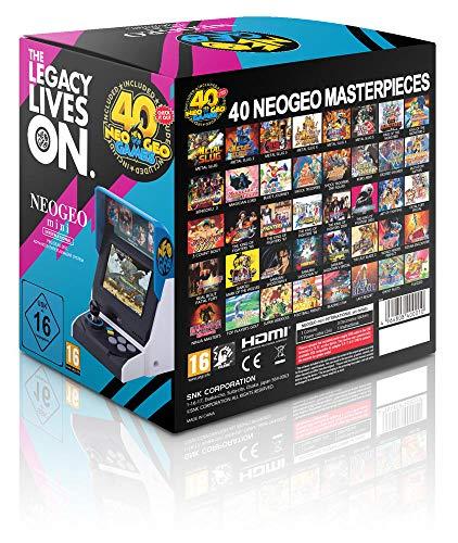 Neo Geo - SNK Mini International Edition (Incluye 40 juegos ...