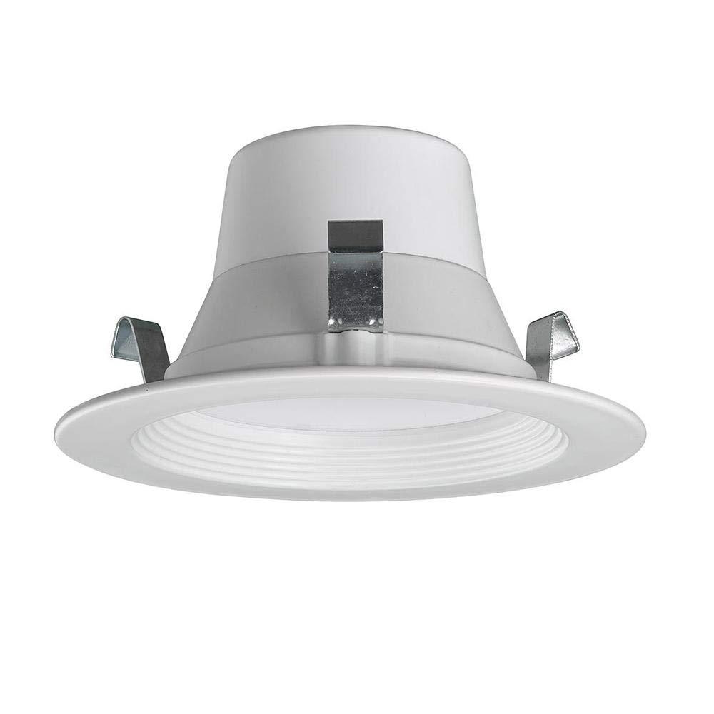 CE Bluetooth 4インチ 2700K-5000K 調光機能付きホワイトLED埋込型トリム 色温度調節機能付き   B07Q6ZQT6T