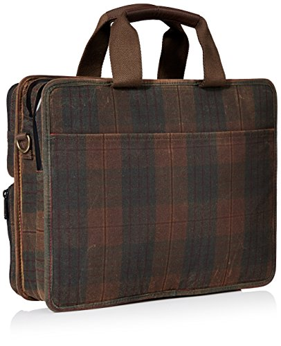 Briefcase Plaid Waxed Bags Waxed Token Token Plaid Briefcase Hewes Size One Hewes Bags xqf8w7YAY