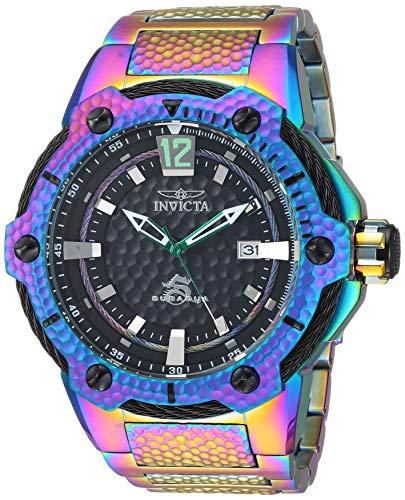 Invicta Men's Subaqua Automatic-self-Wind Watch with Stainless-Steel Strap, Multi, 29.6 (Model: 28007) (Watches Aqua For Invicta Men)