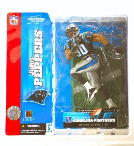 Julius Peppers #90 Blue Jersey Uniform Carolina Panthers McFarlane -
