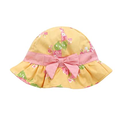 eec1a7f046a Amazon.com   George Jimmy Cute Baby Toddler Kids Sun Hats Summer Cap Bucket  Hat for Baby Girls