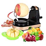 Apple Peeler Slicer Corer Vegetable and Fruit Peelers Slicer Automatic Hand Crank Ultra Sharp Stainless Steel Blades Fruit opener Peels Slicer Corer and Cuts in Seconds Peelers